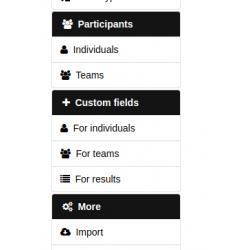 Tracks custom fields plugin